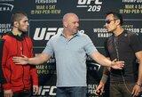 UFC prezidentas patvirtino, kad jau yra suradęs vietą C.Nurmagomedovo ir T.Fergusono dvikovai