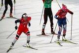 Visų laikų rekordas: dar vieną medalį iškovojusi M.Bjoergen aplenkė O.E.Bjoerndaleną (atnaujinta)