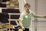 P.Bartušis badmintono turnyro Latvijoje ketvirtfinalyje neprilygo favoritui