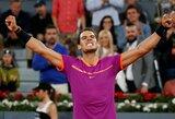 Įspūdingą pergalių seriją pratęsęs R.Nadalis pusfinalyje susitiks su N.Djokovičiumi