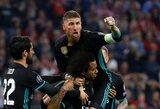 """Ispanijos taurėje """"Real"""" į priekį tempė du įvarčius pelnęs S.Ramosas"""
