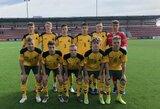 U-17 futbolo rinktinė UEFA Talentų turnyre nugalėjo Farerų Salų komandą