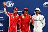 """K.Raikkonenas dramatiškai išplėšė """"pole"""" poziciją """"Ferrari"""" gimtinėje"""