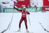 Dar viena Norvegijos atstovių pergalė Pasaulio biatlono taurės etape