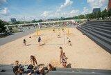 Europos paplūdimio tinklinio čempionatas vyks Latvijoje, apšilimas – Vilniuje