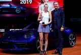 """P.Kvitova finale įveikė estę ir laimėjo naują """"Porsche"""" automobilį"""