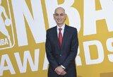 NBA komisaro siekis – lažybų legalizavimas dėl lygos rezultatų