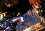 Kraupus nusikaltimas Rusijoje: 3 mėnesius ieškotas 12-metis čempionas rastas po betono sluoksniu