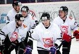 """Pamatykite: du iš trijų """"Hockey Punks"""" įvarčių pelnęs baltarusis už neleistiną veiksmą diskvalifikuotas vienerioms finalo rungtynėms"""