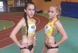 Šviesi ateitis: lengvaatletės seserys Vaiciukevičiūtės lenkia ėjimo žvaigždes