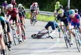 """""""Šakiai Grand Prix"""" dviračių plento lenktynės baigėsi klaipėdiečių triumfu"""