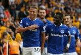 """Anglijos pirmenybės: Richarlisono dublio neužteko mažumoje likusių """"Everton"""" pergalei"""
