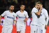 """""""Inter"""" išvykoje susitvarkė su """"Serie A"""" lygos autsaideriais"""