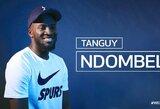 "Oficialu: T.Ndombele tapo rekordiniu ""Tottenham"" pirkiniu"