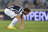 """C.Marchisio: """"Šiame sezone labiau bijau """"Roma"""" klubo nei """"Napoli"""""""