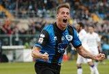 """""""Atalanta"""" klubas pilnai įsigijo G.Denisą"""