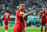 """""""Bayern"""" gretas po šio sezono paliks dar vienas futbolininkas"""