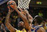 """""""Maccabi"""" užtikrintai susitvarkė su """"Khimki"""" krepšininkais"""