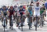 """E.Juodvalkis pirmajame """"Tour of Belgium"""" dviračių lenktynių etape finišavo 4-as"""