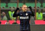 """Milano derbyje savo pranašumą įrodė """"Inter"""""""