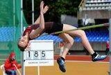 Šuolininkei į aukštį G.Nesteckytei nepavyko patekti į Europos jaunimo čempionato finalą