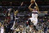 """Trečiose iš eilės rungtynėse sužibėjęs """"Wizards"""" atsarginis vedė ekipą į pergalę"""