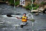 Š.Zakarka Europos jaunių baidarių slalomo čempionate aplenkė keturis varžovus