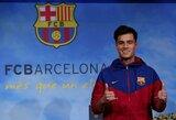 """""""Barcelona"""" paskelbė, jog dėl traumos P.Coutinho negalės rungtyniauti 3 savaites"""