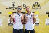 Pirmą kartą Vilniuje surengtas FIVB turnyras baigėsi sidabriniu lietuvių finišu