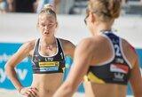 Lietuvos paplūdimio tinklininkės Austrijoje papildė FIVB reitingo taškų kraitį