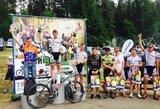 Kalnų dviratininkai trijų dienų lenktynes baigė su ultrabėgikais