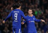 """Dviejų įvarčių persvarą turėję """"Chelsea"""" išsigelbėjo nuo pralaimėjimo, M.Rashfordas vedė """"Manchester United"""" į pergalę"""