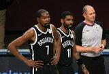 "K.Durantas rezultatyviai debiutavo ""Nets"" komandoje"