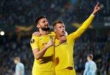 """Europos lyga: """"Chelsea"""" atkrentamąjį etapą pradėjo pergale Švedijoje"""