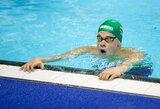 Antrame pasaulio plaukimo taurės etape D.Rapšys ir A.Šidlauskas jau pirmose rungtyse prasibrovė į finalus