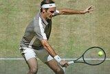 Rekordą pasiekęs R.Federeris iškovojo dešimtą Halės turnyro titulą