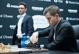 Pasaulio čempionato finale – penktos lygiosios ir visus prajuokinęs M.Carlseno pareiškimas