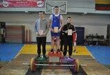 Marijampolėje įvyko Lietuvos jaunučių sunkiosios atletikos čempionatas