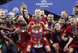 """Naujieji Europos karaliai: žaibišką įvartį pelnę """"Liverpool"""" šeštą kartą triumfavo Čempionų lygoje"""