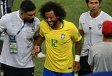 Su ašaromis akyse aikštę palikęs Marcelo patyrė nugaros traumą