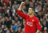 """C.Ronaldo išrinktas geriausiu """"Manchester United"""" futbolininku """"Premier"""" lygoje"""