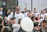 """Olimpinės dienos ugnį įžiebęs E.Žukauskas: """"Sugrįžo malonūs prisiminimai"""""""