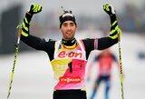 M.Fourcade'as pergalingai baigė pasaulio biatlono taurės etapą Vokietijoje