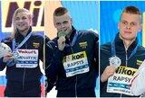 Paaiškėjo Lietuvos plaukikų uždarbis pasaulio čempionate, medalių įskaitoje lietuviai aplenkė didžiąsias Europos šalis