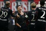 """""""Milan"""" rungtynių gale išplėšė pergalę prieš autsaiderius"""