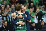 """Š.Jasikevičius: """"Visą gyvenimą buvau didžiulis """"Žalgirio"""" fanas. Tai man yra komanda numeris vienas ir taip bus iki mirties"""""""