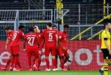 """""""Borussia"""" nugalėjęs """"Bayern"""" dar labiau sutvirtino """"Bundesliga"""" čempionato lyderio poziciją"""