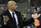 """""""Inter"""" strategas L.Spalletti po pasitraukimo iš Europos lygos: """"Mums trūko visko"""""""