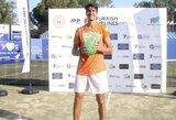 Pusfinalį ir finalą per dieną žaidęs L.Sonego triumfavo Turkijoje vykusiame turnyre