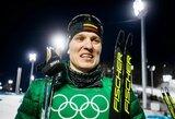 Į Lietuvą parskridęs M.Vaičiulis iškovojo pergalę tarptautinėse slidinėjimo varžybose